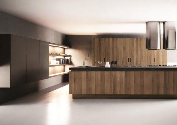 طراحی داخلی آشپزخانه کوچک و بزرگ