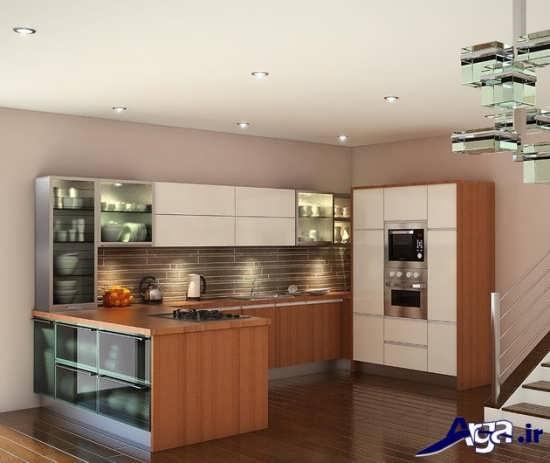 طراحی مدرن آشپزخانه کوچک