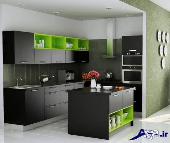 دیزاین داخلی آشپزخانه های کوچک