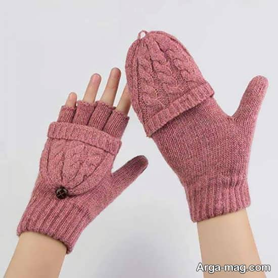مدل دستکش بافتنی جالب