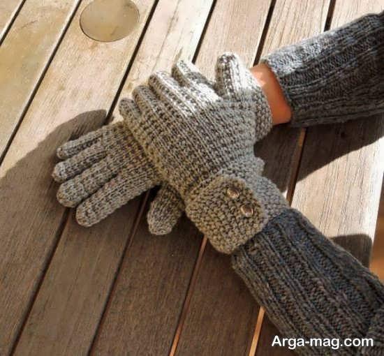مدل دستکش بافت و گرم