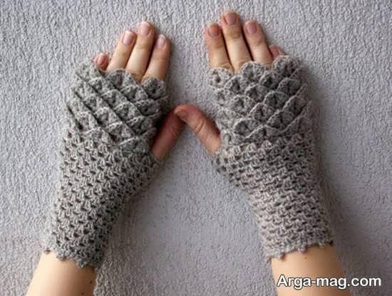 مدل دستکش بافت جدید