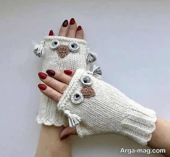 مدل دستکش بافت زیبا