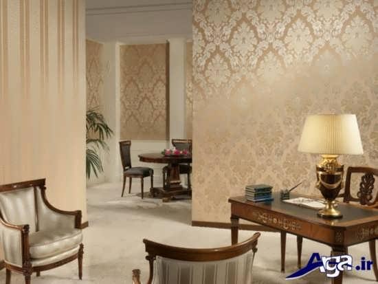 انواع طرح های شیک و زیبا کاغذ دیواری