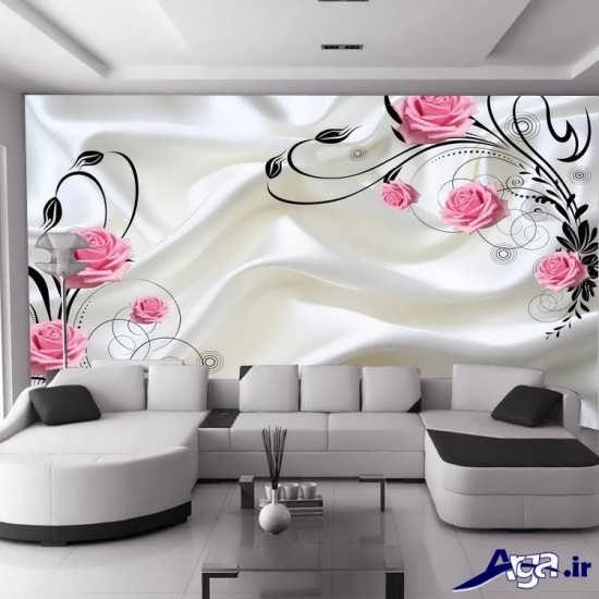 کاغذ دیواری با طرح های شیک