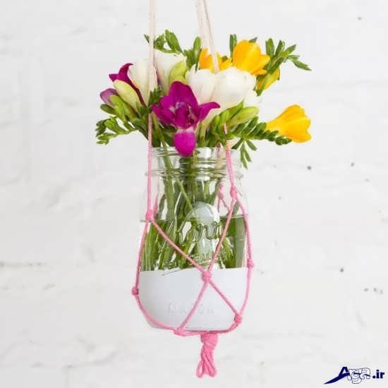 ساخت گلدان تزیینی برای منزل