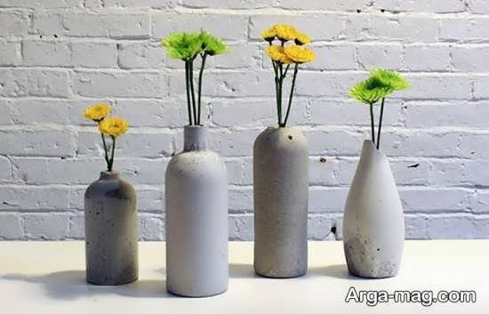 ساختن گلدان با بطری