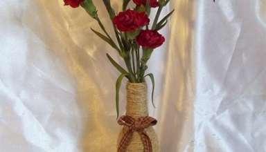 ساخت گلدان زیبا