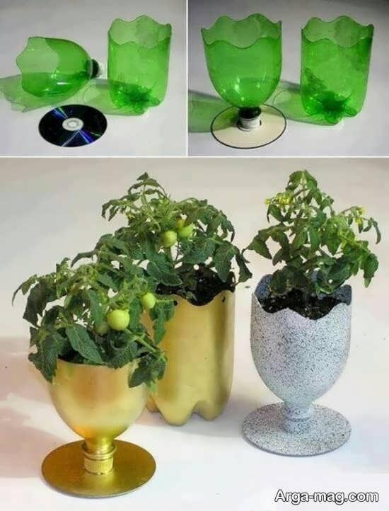 انواع خلاقیت گلدان
