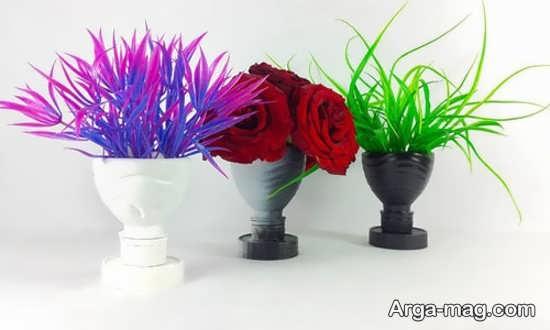 ساختن گلدان پلاستیکی