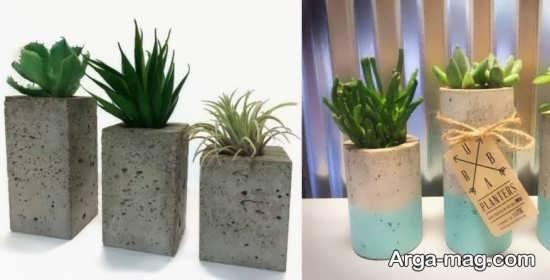 ایده ساخت گلدان