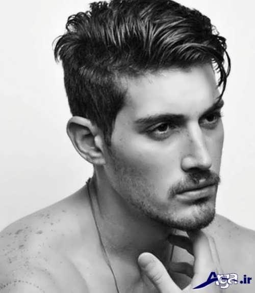 مدل موی زیبا و متفاوت مردانه