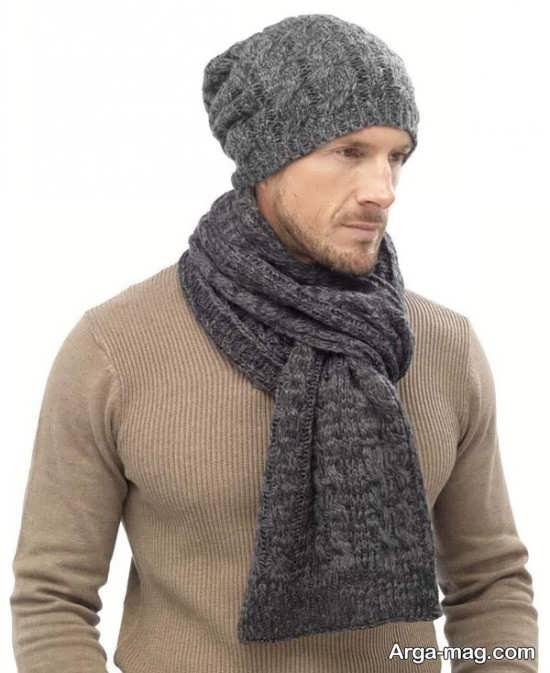 مدلهای ایده آل شال و کلاه بافتنی مردانه
