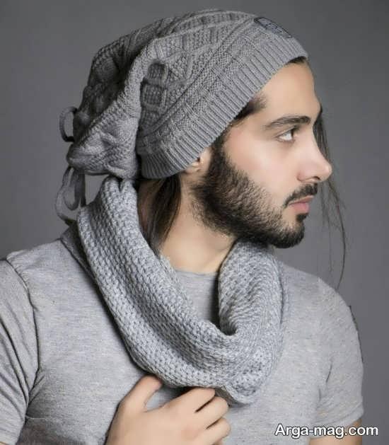 مدل کلاه بافتنی قشنگ برای آقایان