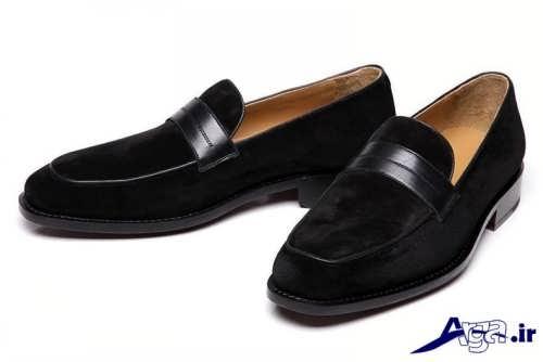 کفش مخمل مردانه با طرح های شیک و زیبا
