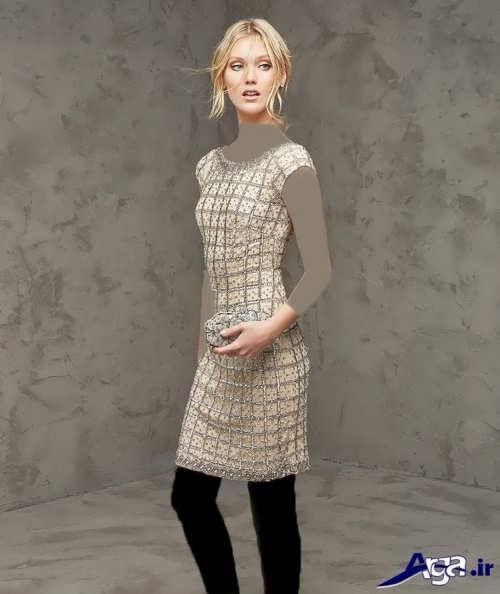 لباس مجلسی کوتاه دخترانه 2017