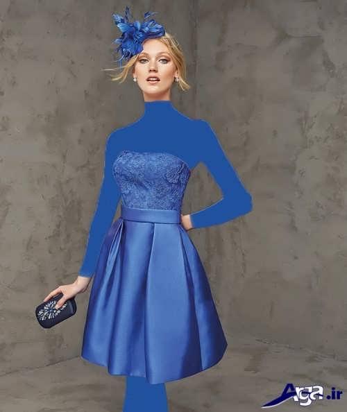 مدل لباس مجلسی دکلته 2017