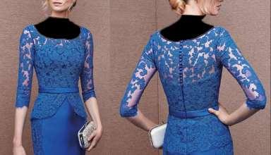 مدل لباس مجلسی دخترانه 2017 با طرح های زیبا و شیک