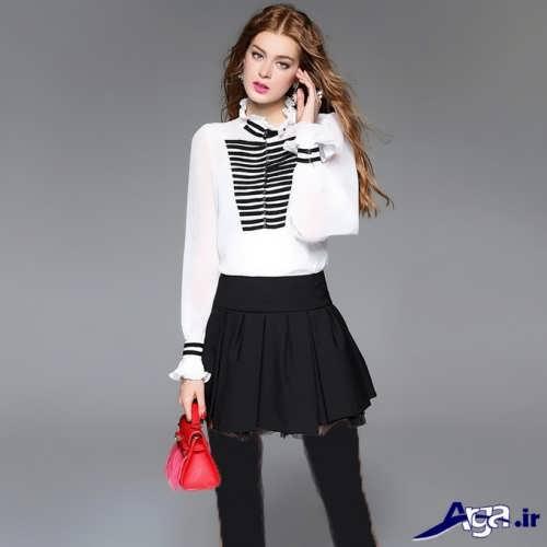 مدل بلوز مجلسی زنانه با طرح های زیبا و شیک