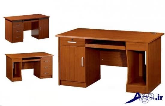 میز تحریر با طراحی مدرن و زیبا