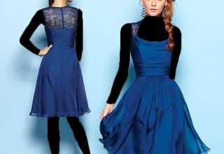 مدل لباس شب دخترانه با طرح های کوتاه و بلند