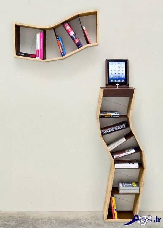 مدل های زیبا و متفاوت کتابخانه دیواری