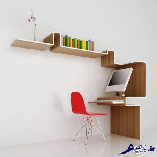 مدل کتابخانه زیبا و ساده