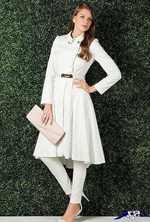مدل مانتو سفید 2017