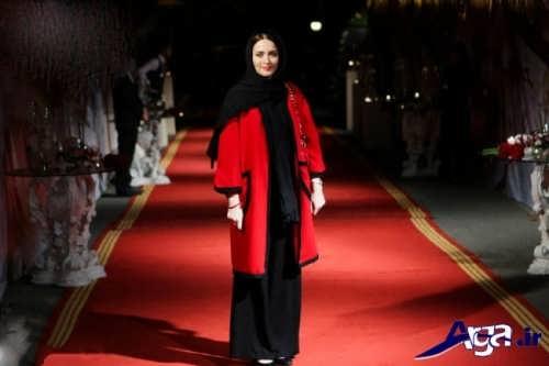 مدل مانتو کوتاه بازیگران ایرانی