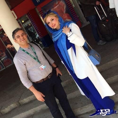 مدل مانتوی بازیگران ایرانی با طرح های متنوع