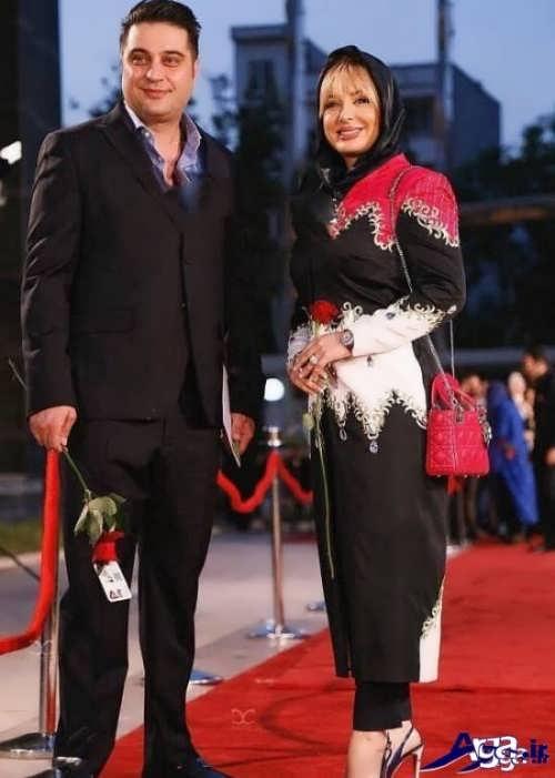 مدل مانتو مجلسی بازیگران ایرانی