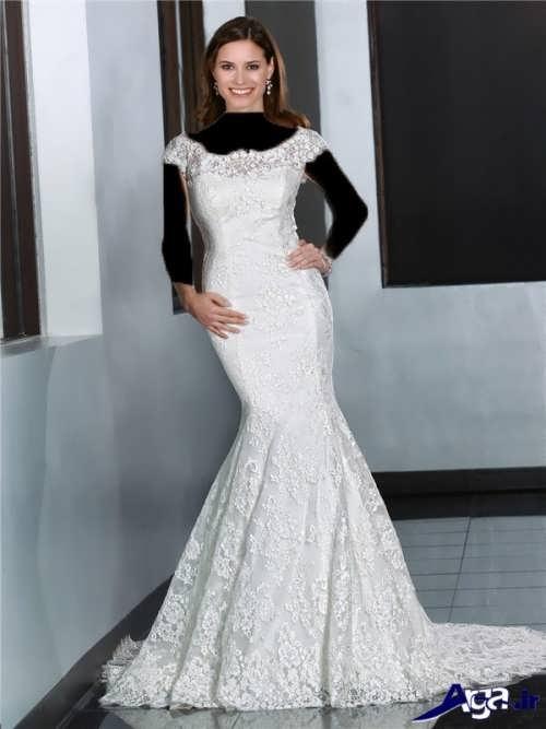 مدل لباس عروس دامن ماهی