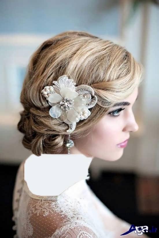 مدل آرایش موی عروس 2017
