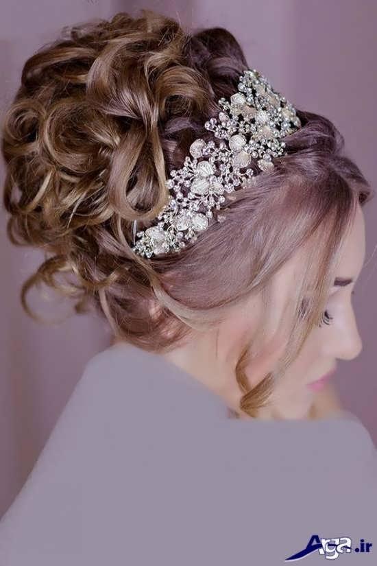 مدل شینیون عروس 2017 با جدیدترین متدهای آرایش مو