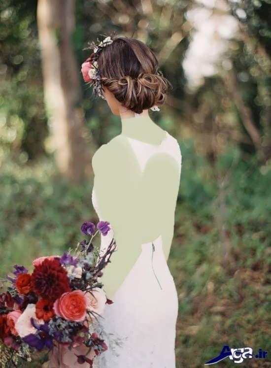 مدل شینیون بسته عروس 2017