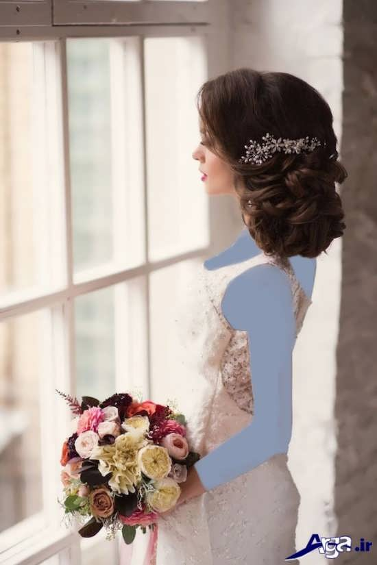 مدل شینیون عروس 2017 جدید