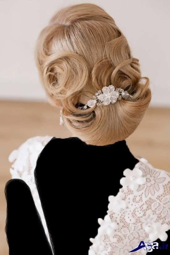 انواع مدل های زیبا و شیک شینیون عروس