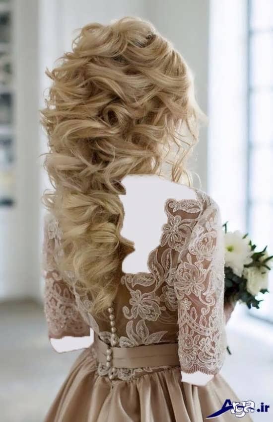 مدل های شینیون باز عروس