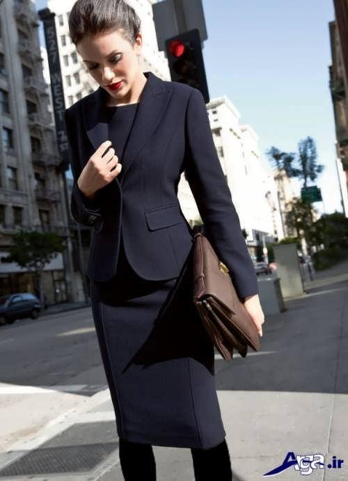 مدل کت و دامن ساده
