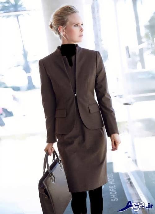 کت و دامن رسمی زنانه 2017