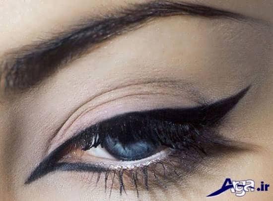 مدل خط چشم کشیدن برای صورت ها با فرم های مختلف