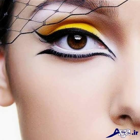 مدل سایه و خط چشم