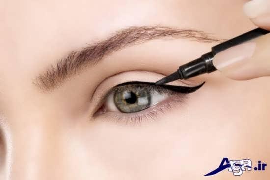 مدل خط چشم دخترانه زیبا