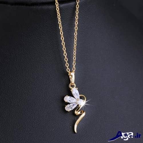 مدل گردنبند طلا دخترانه