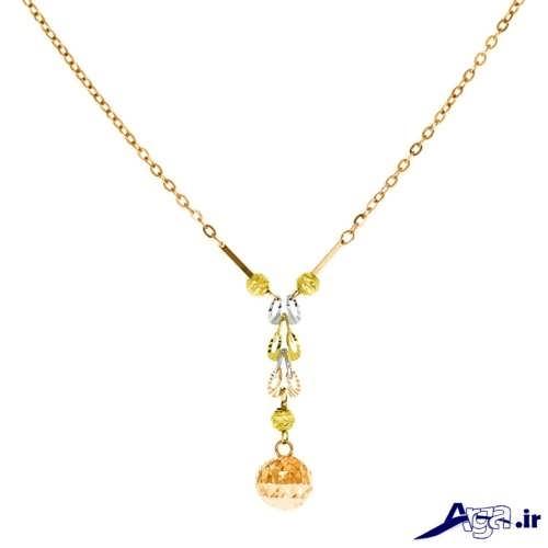 مدل گردنبند طلا دخترانه با جدیدترین و زیباترین طرح های مد سال