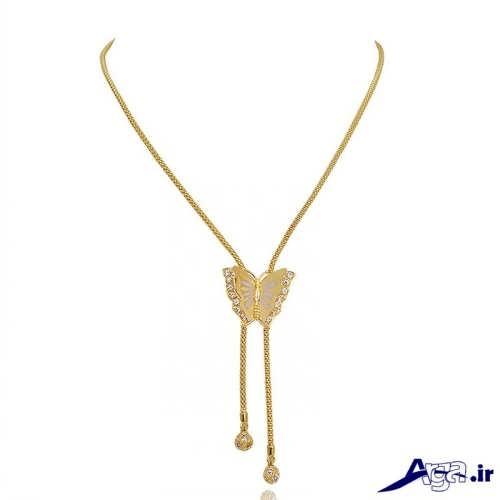 گردنبند طلا دخترانه