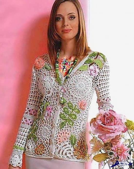 لباس قلاب بافی شیک و زیبا