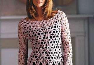 مدل لباس قلاب بافی زنانه