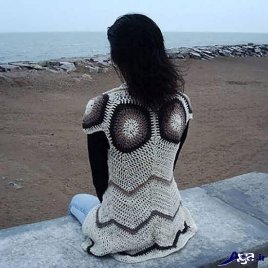 لباس قلاب بافی جدید و زیبا