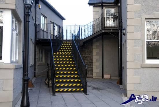 جدیدترین مدل های راه پله ساختمان با طراحی زیبا